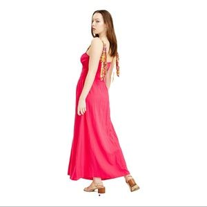 NWT FREE PEOPLE Hot Hibiscus maxi dress, 6